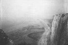 Les falaises de Tréport-Terrasse, Achille Duchêne, 1897.