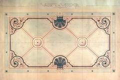 Projet pour le parterre latéral est, 1911