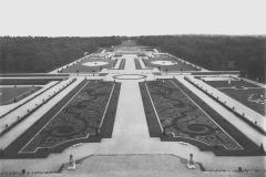 Vaux-le-Vicomte, perspective du grand parterre, Achille Duchêne, 1920
