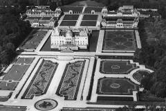 Vaux-le-Vicomte, vue aérienne, 1954