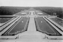 Vaux-le-Vicomte, perspective du grand parterre, Henri Duchêne, 1901