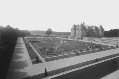 Vaux-le-Vicomte, parterre latéral est, Achille Duchêne, 1913