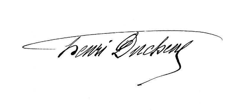 signature Henri Duchêne