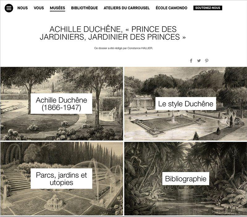 article Les broderies d'un jardin protégées par le droit d'auteur